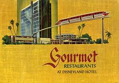 Disneyland Hotel menu