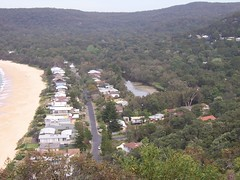 Pearl Beach lagoon from Mount Ettalong (Spikebot) Tags: australia lagoon nsw walkies umina brisbanewater pc2257 pearlbeach pc2256 auspctagged mountettalong