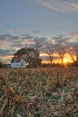 Farmhouse-Vert-2 (jason_minahan) Tags: autumn sunset fall nj princeton hdr mercercounty xti