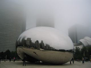Clouds Over Cloud Gate