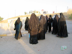 Kurdistan, the other Iraq (Chris Kutschera) Tags: woman veil iraq middleeast hijab modesty kurdistan zakho khimar