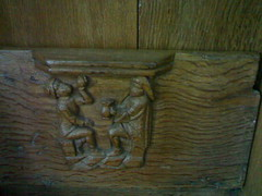 Here, the excessive use of alcohol is denounced (hugovk) Tags: cameraphone old autumn holland church netherlands amsterdam choir de nokia wooden carved october nederland stall 2006 nl hvk mokum oldchurch kerk oude stalls proverb noordholland syksy proverbs misericord deoudekerk northholland n701 04102006here theexcessiveuseofalcoholisdenounced misericords hugovk camera:Make=nokia camera:Model=n701 nokian701 exif:Focal_Length=45mm exif:ISO_Speed=500 exif:Flash=noflash exif:Aperture=32 exif:Orientation=horizontalnormal exif:Exposure=117 heretheexcessiveuseofalcoholisdenouncedhere theexcessiveuseofalcoholisdenouncedheretheexcessiveuseofalcoholisdenounced meta:exif=1380271742