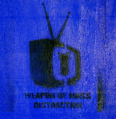(areyarey) Tags: streetart london art broadcast television sign set graffiti design wooden tv stencil war grafitti technology message shot arms symbol box object military grunge banner explosion screen retro monitor communication weapon roc