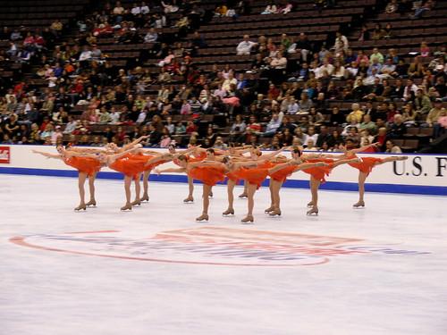 シンクロナイズド・スケートで締めます