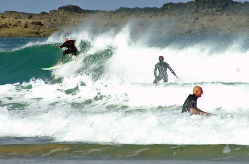 Surfing at St Ives - flckr - Dave Hamster