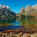 Cascade Canyon from Jenny Lake - by Fort Photo