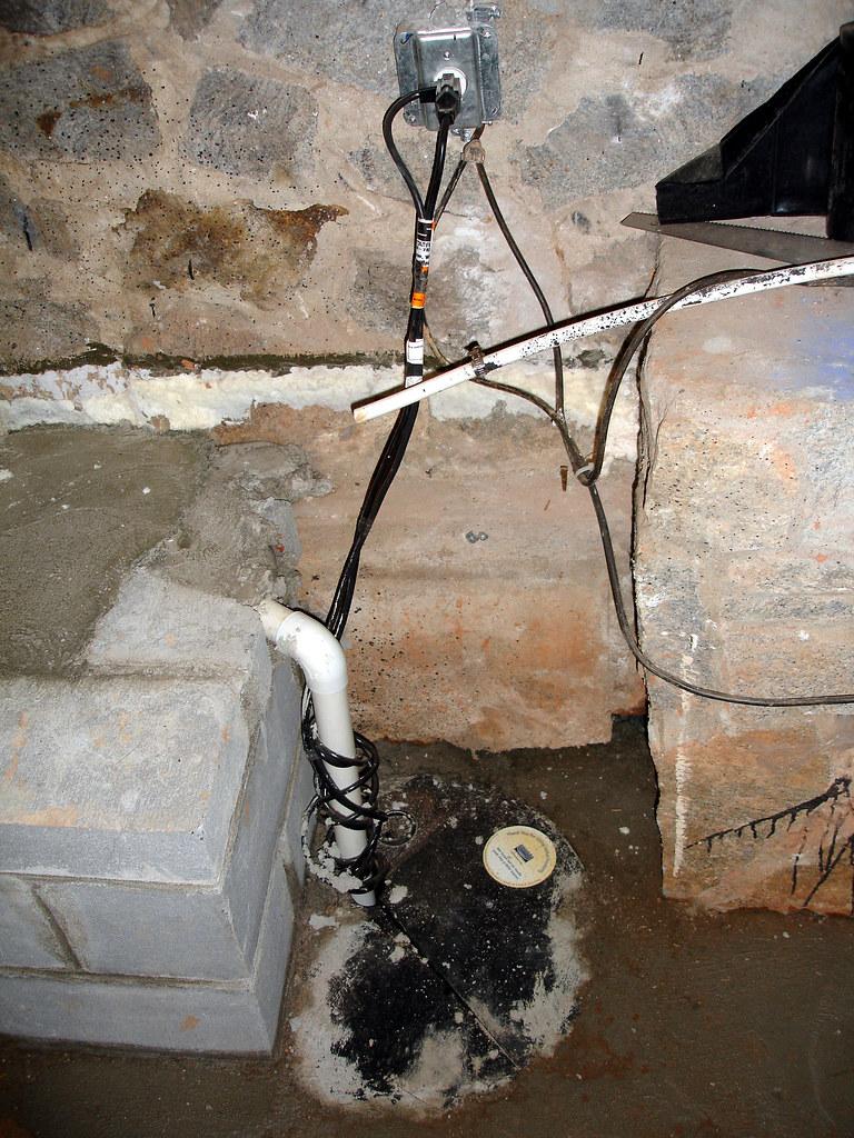 Sump Pump Housing
