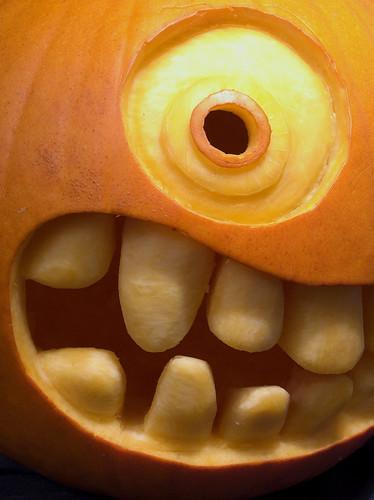 Pumpkin closeup, par « minipixel »