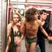 naked in the subway