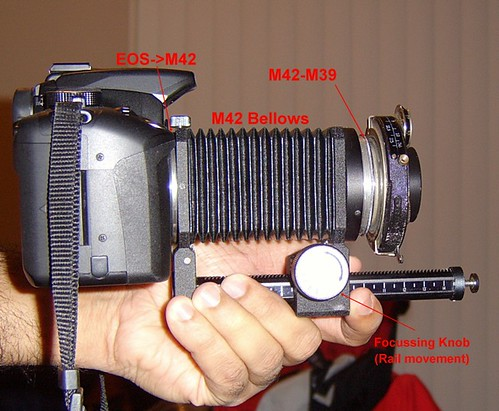 Friedrich Corygon Setup (Large format lens)