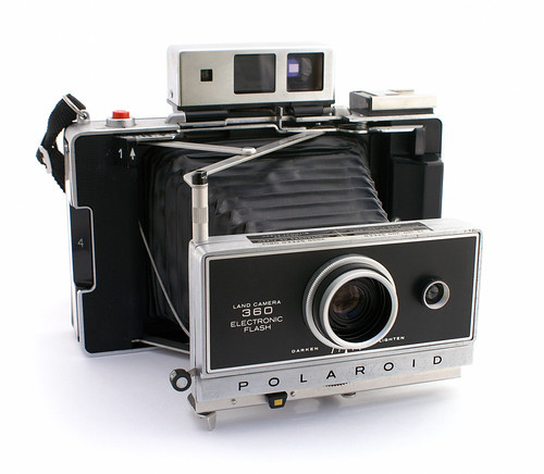 Polaroid Land Camera 360 Electronic Flash - Camera-wiki.org - The ...