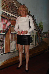 Dutch T-girl... (kim femme10) Tags: me kim crossdressing tgirl tranny transvestite miniskirt pantyhose crossdresser trannies travestie transvestism tgirls