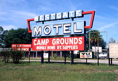 Motel Sign, Perry, Florida