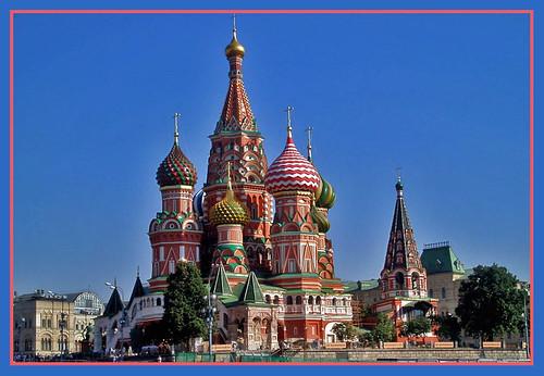 Catdral de San Basilio en Moscú