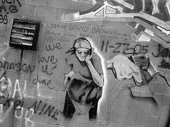 Ghat (Desolate Places) Tags: new york rip poughkeepsie memorialwall gangkillings