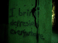 maybe spelling is not the reason (Dalmatica) Tags: texture wall grafitti darkness dalmatia badspelling viewitlarge 1on1objects dalmatica islandpag latenightwonder marianatomas wegotagreatlaughoutofthis