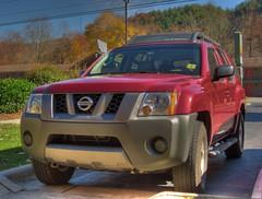 Nissan Exterra - HDR (kaushalmodi) Tags: handheld rides hdr smokymountains 5xp sd700is kaushalmodi