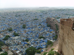 Fort View of Blue City in Jodhpur by Idiscoverindia.com (B.Rai) Tags: india rajasthan jodhpur bluecity idiscoverindia
