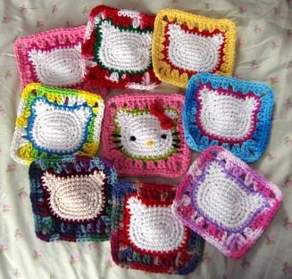 Free Crochet Pattern Hellow Kitty - Riiki