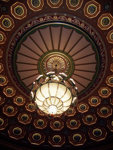 Pittsburgh, PA Benedum Center for the Performing Arts light fixture