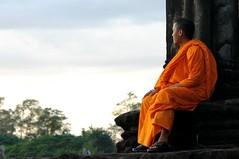 Angkor Wat - monk