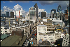 View from the Monument - London