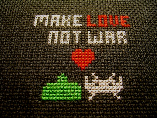 make love not war,