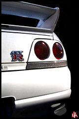 Skyline (i ea sars) Tags: white car japan skyline racecar tokyo interestingness interesting nissan explore coche carro rebelxt r33 import canonrebelxt gtr skylinegtr imported r34  aplusphoto