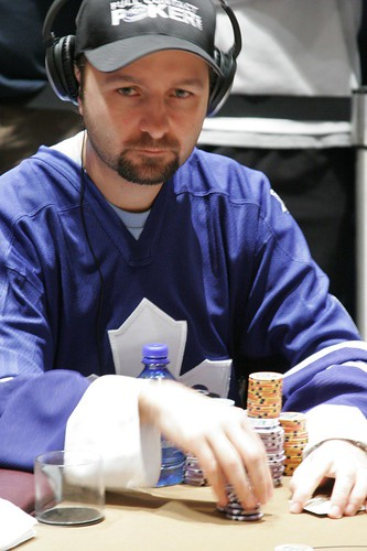 Daniel Negreano poker face