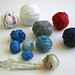 Balls of plastic yarn by gooseflesh