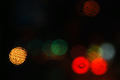playing with camera (*suika *) Tags: light colour car rain night superhighway wiper