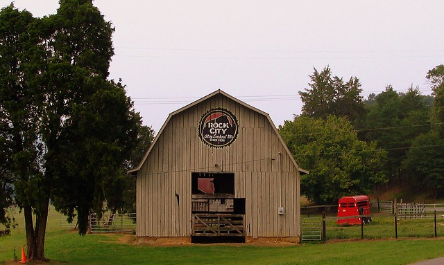 Side of the www.seerockcity.com barn