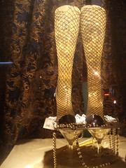 The Slipper Room (martha burzynski) Tags: windows friends window glass beauty fun shoes shine display room lowereastside drinking sparkle fishnets jewels martinis burlesque slipper brocade slipperroom