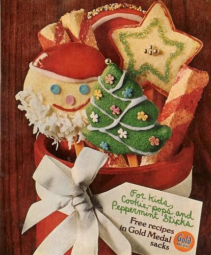 Gold Medal Cookies 1969