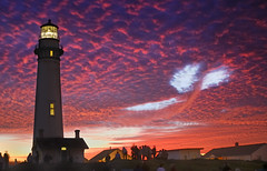 Pigeon Point / Sky Whale... ((nz)dave) Tags: california ca nightphotography light sunset sky usa lighthouse color colour night clouds america landscape outdoors coast nikon scenery dusk lit d200 sanmateo pigeonpointlighthouse statehighway1 ca1 nikond200 interestingness14 i500 nikonstunninggallery sfchronicle96hrs upcoming:event=116857 explore21nov2006 lighthousetrek lifetravel lightkeeperaward travelingthe1 1galleries