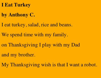 I Eat Turkey