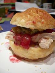 Snack (jillmotts) Tags: thanksgiving food turkey sandwich goodeats turkeysandwich thanksgiving2006 jillmotts