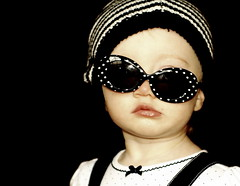A little crooked.... (*Pretty in Pink*) Tags: cute hat sunglasses funny gap precious crooked gymboree pouty ellabrooke anawesomeshot