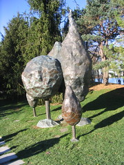 Grounds or Sculpture: Metal Blobbies