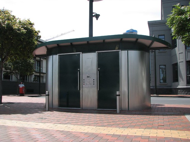 Public toilet, Auckland, New Zealand