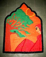 IMG_9382kolam (visithra) Tags: colours malaysia kualalumpur diwali kolam rangoli indianart ownart visithra