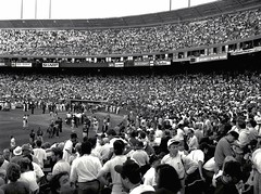 1989 World Series Baseball, Game 3, Candlestick Park, San Francisco (Dizzy Atmosphere) Tags: sanfrancisco oakland earthquake baseball sanandreasfault oaklandas worldseries mlb lomaprieta sanfranciscogiants candlestickpark oaklandathletics lomaprietaearthquake october171989 1989worldseries