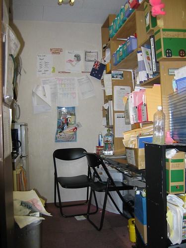 School clutter