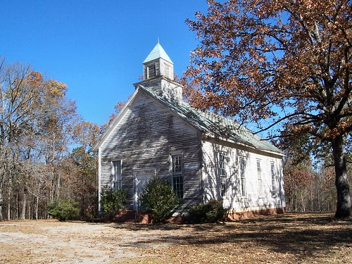 Old Barnett Methodist Church, Barnett, GA