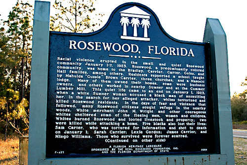 racial issues and violence in the rosewood massacre in the united states Mass racial violence in the united states , also called race riots , can include such disparate events as: racially based communal conflict involving african americans that took place following the american civil war conflict between americans and recent european immigrants in the 19th and 20th centuries attacks on native americans and.