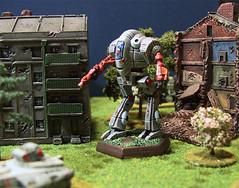 Battletech Caesar Mech (inrepose) Tags: terrain painting paint painted caesar wargames mech battletech battlemech wargaming innersphere