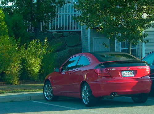 mercedes benz C230 red by scleroplex. a great hatchback!