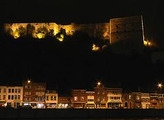Huy by night (Didj66) Tags: leica light urban house night landscape lumix nightshot searchthebest belgium belgique chateau huy castel wallonie citadelle fz7 dmcfz7 panasonicdmcfz7 challengeyouwinner abigfave didj66