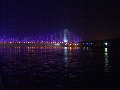 Below the Howrah Bridge, Kolkata
