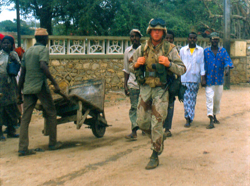 Somalia 1992 by Monica